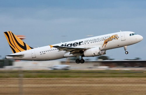 самолет Tiger Airways